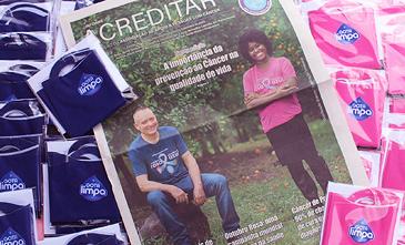 Gota Limpa promove ações de outubro rosa e novembro azul